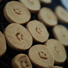 手作り/きなこ/柚子/クッキー/クッキング きなこ♡クッキー&柚子♡クッキー