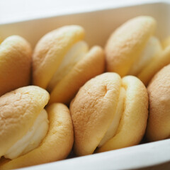 フワフワ/絶品/美味しい/生どら/至福のひととき/おやつタイム 生どら♡チーズケーキ