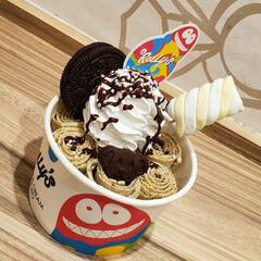 お出かけ/ロールアイス/食べ歩き/暮らし ROLL ICE CREAM ✱クッキー…