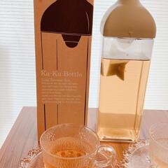 HARIO カークボトル 選べるカラー 1,200ml 水出しボトル | ハリオ(水差し、ピッチャー)を使ったクチコミ「暑い夏に向けてオススメの水出しティーポッ…」