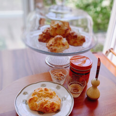 手作りおやつ/おやつタイム/自家製おやつ/Mitsuki's nasse/リミアな暮らし/おすすめ/... 塩バタービスケットを焼きました🧁明治屋の…