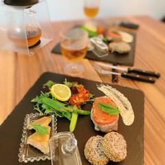 おうちごはん/ハンバーグ/時短レシピ/時短料理/簡単レシピ/リミアな暮らし/... カフェ風プレートを作りました!こちらの簡…