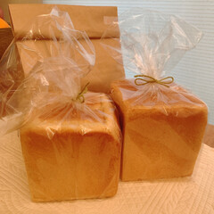 食パン/自家製パン/おうちごはんクラブ/おうちごはん/Mitsuki's nasse/手作りパン/... 自家製食パンを親しい友人に食べてもらって…(2枚目)