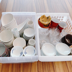 食器収納/食器棚/食器/和食器/キッチンと暮らす。/快適な暮らし/... 和食器の中でも、とても小さい豆皿は数が増…(2枚目)