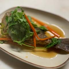 パクチー/魚料理/LIMIAな暮らし/リミアな暮らし/Mitsuki's nasse/酒のつまみ/... 釣りたてのイサキを揚げて、エスニック風南…
