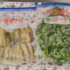 リミとも部/節約/簡単/ラク家事/夏対策/スタミナご飯/... 家庭菜園でなすとゴーヤが沢山とれたので、…