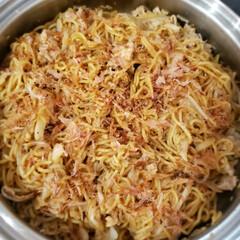 オタフク お好みソース 業務用 2.1kg(ウスター、中濃、お好みソース)を使ったクチコミ「今夜は焼きそば 私は料理に応じてお肉をあ…」(4枚目)