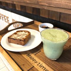 スムージー生活/モーニング/インテリア/カフェ風インテリア/カフェ風/スムージー/... おはようございます☀ 今日の朝食はスムー…