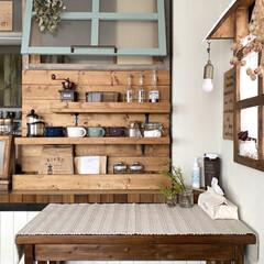 ミルクペイント 4ペンキ DIY 塗装 塗る ペイント 家具 大工 色付け 50mL ターナー | ターナー(ペンキ、塗料)を使ったクチコミ「こんにちは・:*+.✳︎  ダイニングの…」(1枚目)