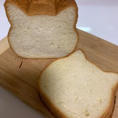食パン/おやつタイム ねこぱん  美味でございました😊