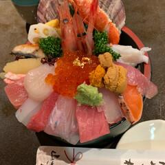海鮮丼/香箱カニ/近江町市場/金沢/おでかけ/おすすめアイテム/... 近江町市場 山さん寿司で海鮮丼 そして …