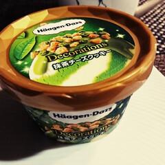 抹茶チーズクッキー/ハーゲンダッツ新商品/スイーツ/甘党大集合 昨日、今日ととても 寒かったけど アイス…