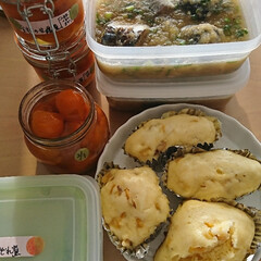鯖のみぞれ煮/さつまいもの蒸しパン/金柑の甘露煮 冬を乗り切る 体に良いもの~ 金柑の甘露…