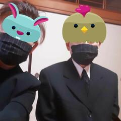 手作りマスク/ハンドメイド 娘婿のお母様の何回めかの法事に 参加した…