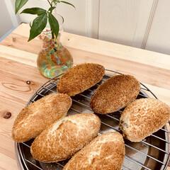 揚げないカレーパン/自家製酵母パン 自家製天然酵母パン ヘルシーな、揚げない…(4枚目)