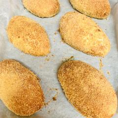 カレー🍛パン/自家製天然酵母パン 自家製天然酵母パン👯♀️カレーパン🎶 …(4枚目)