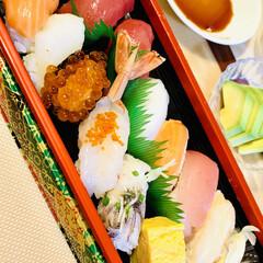 にぎり寿司 今夜は、🏠で握り寿司🍣〜😘✌🏻💕