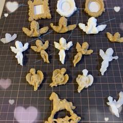 石膏/グルーガン 先日石膏仕上げで天使👼を作りましたが、 …