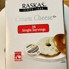 コストコ/商品紹介/朝食/🍯蜂蜜/クリームチーズ/カンパーニュ/... クリームチーズの食べきりサイズが めっち…(4枚目)