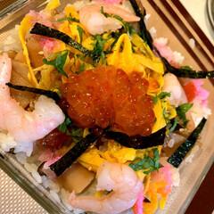 ひな祭り 🎎ちらし寿司🎎作りましたよ〜😆👍🏻 ♪♬…(2枚目)