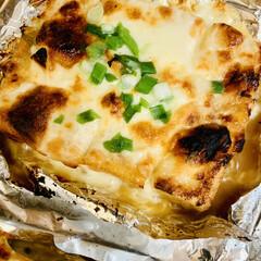 ピザ用チーズ/厚揚げ 今日は、一日中冷たい☔️が降り続いていま…(3枚目)