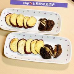 けんちん汁/カレー/椎茸/さつま芋🍠 今夜は、うちにあるもので💦 さつま芋🍠と…