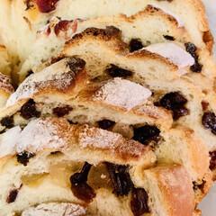 自家製天然酵母パン/ストウブ鍋/カンパーニュ/手作りパン カット🗡終わりました〜♪(๑ᴖ◡ᴖ๑)♪…(2枚目)
