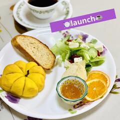 launch/サラダ/自家製天然酵母パン 🍽 launch ☕️
