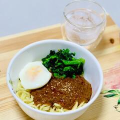 レトルト/業スー/辛口/坦々麺 launchは冷やし坦々麺  辛いのお好…(3枚目)