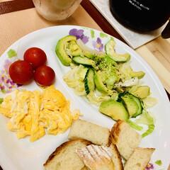 カンパーニュ/自家製天然酵母パン/スタミナ丼/夏に向けて/スタミナご飯/スタミナ飯/... 🍞breakfast☕️ 今朝は、カンパ…