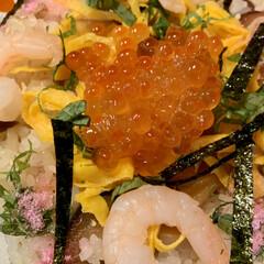 ひな祭り 🎎ちらし寿司🎎作りましたよ〜😆👍🏻 ♪♬…(1枚目)