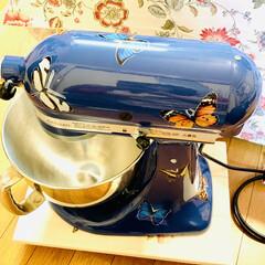 自家製天然酵母/仕込み/手作りパン/デコしてみたよ/スタンドミキサー/キッチンエイド/... キッチンエイドスタンドミキサーを 誕生日…(2枚目)