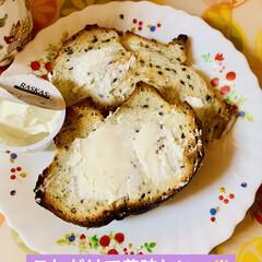 コストコ/商品紹介/朝食/🍯蜂蜜/クリームチーズ/カンパーニュ/... クリームチーズの食べきりサイズが めっち…(5枚目)