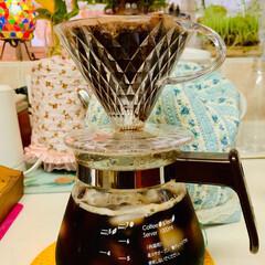 アイスコーヒー/夏に向けて/キッチンツール/キッチンアイテム/キッチン道具/台所アイテム/... 1日2回は作るコーヒー党☆〜(ゝ。∂)