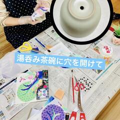 DIY/ものづくり/インテリア/キャンドゥ/デコパージュ/リメ鉢/... 今日は妹が神奈川から久々にやって来ました…(3枚目)