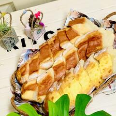 グルメ/launch/フランスパン/自家製天然酵母/手作りパン/ハンドメイド/... launchに焼きたてパン🥖が食べれるの…(2枚目)
