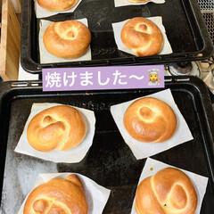 プレゼント/結びベーグル/手作りパン/自家製天然酵母 good morning🥯  今日は娘が…(4枚目)
