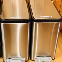 うちのゴミ箱/ゴミ箱 我が家のゴミ箱は ステンレス製で見た目も…