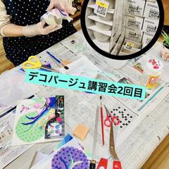DIY/ものづくり/インテリア/キャンドゥ/デコパージュ/リメ鉢/... 今日は妹が神奈川から久々にやって来ました…(1枚目)