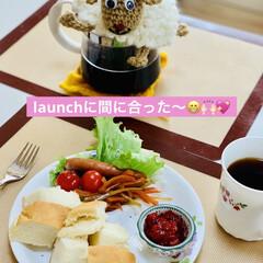 launch/かりん/手作りジャム/ご飯🍚パン🍞 MY launch🤗💖  早速 ご飯🍚パ…