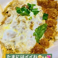 熟成豚/テイクアウト/カツ丼/かつや/夕食 今夜はかつやのカツ丼 テイクアウトでいた…(2枚目)