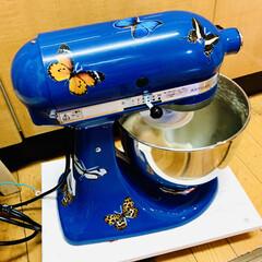 蜂蜜/クリームチーズ/仕込み/キッチンエイド/捏ね/自家製天然酵母パン/... パン捏ねてま〜す👩🍳  明日と明後日 …(3枚目)