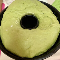 クグロフ型/おうちごはん/うちの定番料理 わぁ〜お🤩 今の時期は、発酵が早🤭 第二…