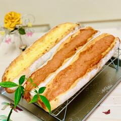 グルメ/launch/自家製天然酵母/手作りパン/フランスパン/ハンドメイド/... 自家製天然酵母 フランスパン🇫🇷🥖焼けま…(3枚目)