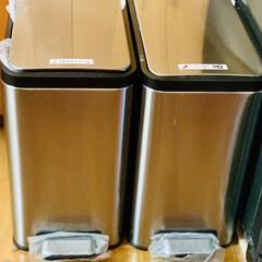 うちのゴミ箱/ゴミ箱 我が家のゴミ箱は ステンレス製で見た目も…(3枚目)