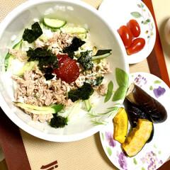 シーチキン寿司 台風の影響で蒸し蒸し😵💦 食欲もない😖💦…(2枚目)