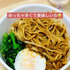 レトルト/業スー/辛口/坦々麺 launchは冷やし坦々麺  辛いのお好…(2枚目)