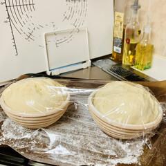 チーズ/カンパーニュ/自家製天然酵母パン/手作りパン/ハンドメイド/手作り/... たった今焼けました〜٩(^‿^)۶🥖🥐🍞…(7枚目)