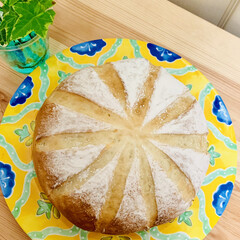 ブリエ/自家製天然酵母パン/手作りパン 生クリームだけ捏ねた贅沢なブリエパン💖 …(4枚目)