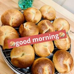 ベーグル🥯/自家製天然酵母パン 🥯good morning🥯  久しぶり…